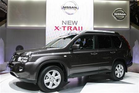 The New X Trail Of Nissan Is On Display During First Media Day 77th Geneva Car Show At Palexpo In This Photo From March 6 2007