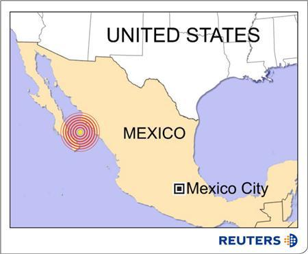Earthquake Shakes Mexico S Gulf Of California Reuters