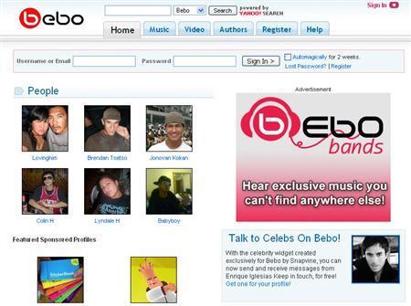 yahoo wins exclusive ad deal for bebo uk ireland