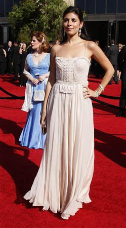 Sopranos cast member Jamie-Lynn Sigler arrives at the 59th Primetime Emmy Awards in Los Angeles, California September 16, 2007. REUTERS/Lucy Nicholson