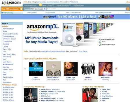 Amazon launches early version of Web music service - Reuters