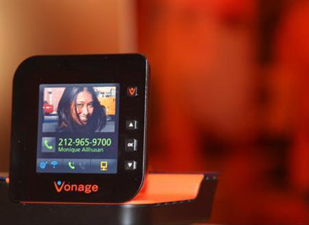 An undated concept image courtesy of Vonage. A U.S. jury found that Vonage Holdings Corp had infringed patents owned by Sprint Nextel Corp and ordered the Internet phone company to pay $69.5 million in damages, triggering a 34 percent fall in its shares. REUTERS/Handout
