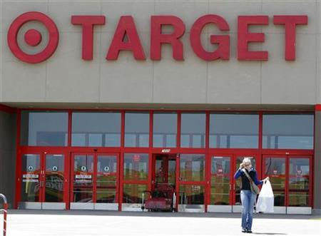 A woman leaves a Target department store in a file photo. A federal judge in California certified a class action lawsuit against Target brought by plaintiffs claiming the discount retailer's Web site is inaccessible to the blind, according to court documents. REUTERS/Rick Wilking