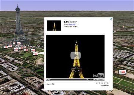 YouTube lets users map videos onto Google Earth - Reuters on ios7 maps, yellow pages maps, add gta 5 maps, i phone maps, kindle fire maps, star media maps, top 10 maps, ifit maps, united states forest service maps, more maps, time magazine maps, dirty maroon maps, maroon vintage maps,