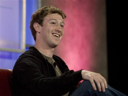 Facebook founder Mark Zuckerberg speaks at the Web 2.0 summit in San Francisco, California, October 17, 2007. REUTERS/Kimberly White