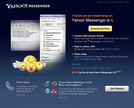 Yahoo adds media playing, languages to messaging - Reuters