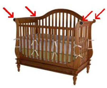 Bassett Recalls 8900 Cribs Due To Entrapment Risk