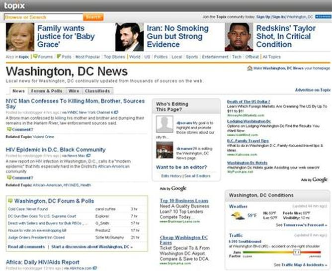 MediaNews uses Topix for online newspaper comments - Reuters