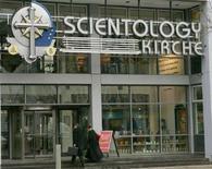 <p>Una sede della Chiesa di Scientology a Berlino. REUTERS/Arnd Wiegmann</p>
