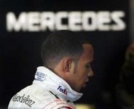 <p>Il pilota di Formula Uno della McLaren Lewis Hamilton. REUTERS/Anton Meres (SPAIN)</p>