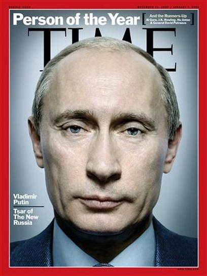 Putin Is Time Magazine S Person Of The Year Reuters