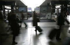 <p>Immagine d'archivio della stazione Termini a Roma. REUTERS/Max Rossi (ITALY)</p>
