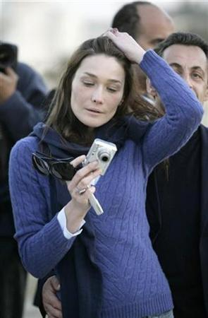 Carla Bruni From Catwalk To The Elysee Palace Reuters Com