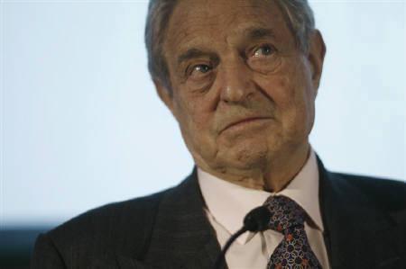 1月22日、著名投資家ジョージ・ソロス氏、世界は第2次大戦以後最悪の金融危機に直面しており、米国はリセッション入りする可能性があるとの見解示す。昨年4月撮影(2008年 ロイター/Jason Reed)