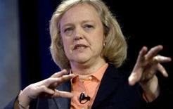 <p>Meg Whitman, la directrice générale du site d'enchères en ligne eBay, pourrait annoncer son départ d'ici quelques semaines, rapporte le Wall Street Journal de mardi. /Photo prise le 18 octobre 2008/ REUTERS/Kimberly White</p>