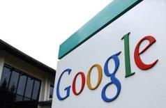 <p>Publicis et Google vont mettre en commun leur expertise pour se développer sur le marché en pleine expansion de la publicité sur internet. /Photo d'archives/REUTERS/Clay McLachlan</p>