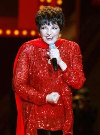 Liza Minnelli steals Red Dress show at Fashion Week