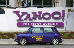 <p>Yahoo a rejeté formellement l'offre de rachat non-sollicitée de Microsoft, qu'il juge trop basse. /Photo prise le 1er février 2008/REUTERS/Kimberly White</p>