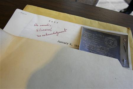 Conspiracy buffs may feast on JFK documents - Reuters