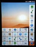 <p>Un prototipo di Google Android mobile di Texas Instruments presentato al Mobile World Congress di Barcellona. REUTERS/Albert Gea</p>
