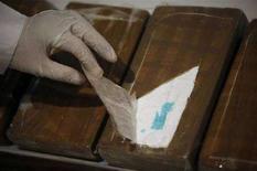 <p>Pacchi contenenti cocaina sequestrati in Messico. REUTERS/Tomas Bravo</p>