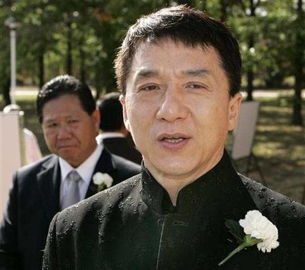 jackie chan father funeral - photo #10