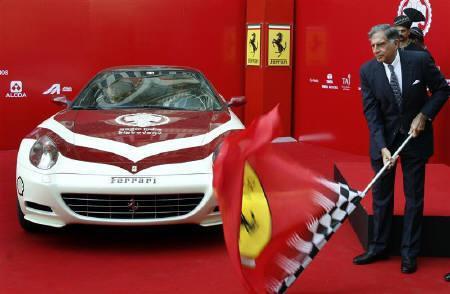 Tata Group denies interest in Ferrari stake | Reuters