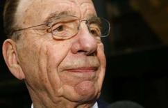 <p>Rupert Murdoch, le patron de News Corp, déclare que son groupe ne s'engagera pas dans un bras de fer avec Microsoft pour le contrôle de Yahoo, confirmant ainsi le jugement de nombreux observateurs et analystes. /Photo d'archives/REUTERS/Mike Segar</p>