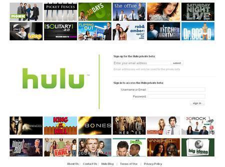 Screengrab of www.hulu.com. Hulu, the online video joint venture of News Corp and General Electric's NBC Universal, will make its public debut on Wednesday with programming from Time Warner Inc's Warner Bros Television Group, Lionsgate and from sports leagues. REUTERS/ Screengrab/www.hulu.com