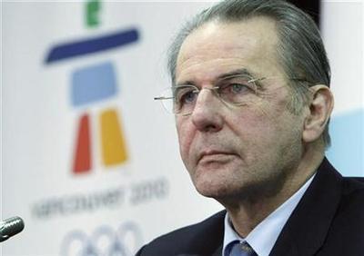 No calls for a Beijing Games boycott: Rogge