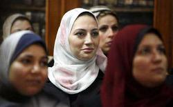 <p>Eman el Emam, una delle 31 giudici donne egiziane nominate nel 2007 dalle autorità del Cairo. REUTERS/Tara Todras-Whitehill</p>