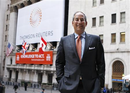 Thomson Reuters debuts amid global market jitters - Reuters