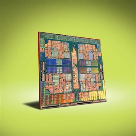An AMD Phenom Quad-Core Processor is seen in an undated handout image. REUTERS/Advanced Micro Devices/Handout