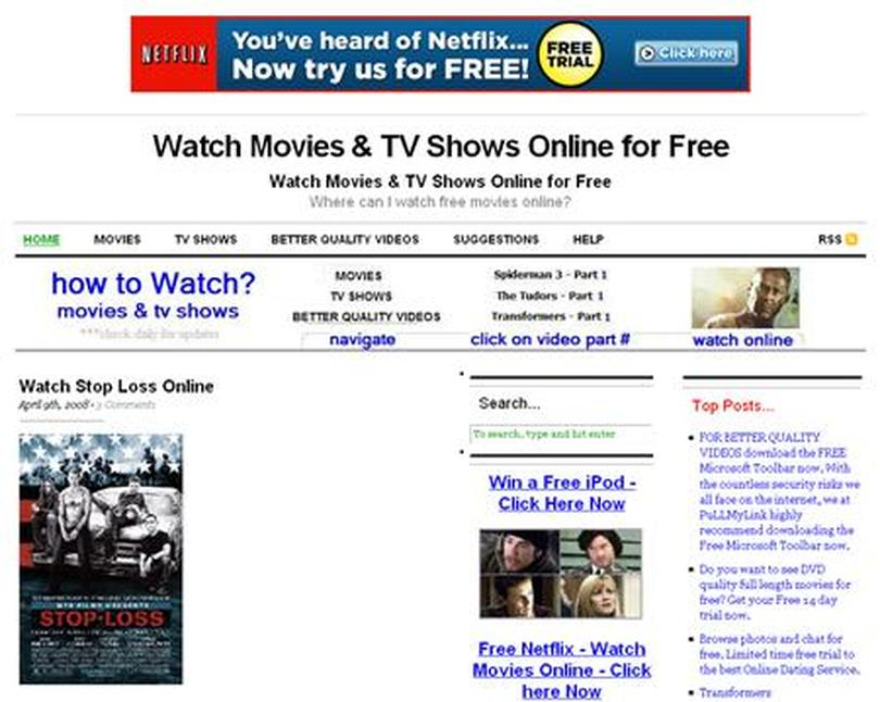 MPAA accuses Pullmylink com of aiding movie piracy | Reuters com