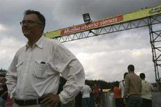 <p>Министр иностранных дел Литвы Пятрас Вайтекунас на музыкальном фестивале в замке Норвилискес 25 августа 2007 года. Литва больше не будет препятствовать переговорам России с Евросоюзом о сотрудничестве, заявил в понедельник литовский министр иностранных дел Пятрас Вайтекунас. (REUTERS/Ints Kalnins)</p>