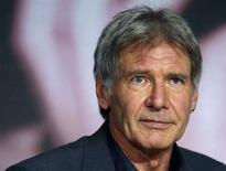 <p>Harrison Ford durante una conferenza stampa al 61esimo Festival del Cinema di Cannes. REUTERS/Jean-Paul Pelissier (FRANCE)</p>