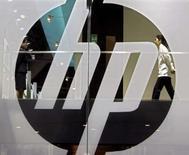 <p>La marge d'exploitation de Hewlett-Packard a augmenté sur le dernier trimestre clos et le groupe informatique américain souligne la bonne tenue de ses activités hors des Etats-Unis. /Photo d'archives/REUTERS/Paul Yeung</p>