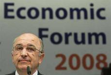<p>Joaquin Almunia, commissario agli Affari economici e monetari della zona euro. REUTERS/Thierry Roge (Belgio)</p>