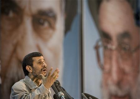 ahmadinejad says israel will disappear