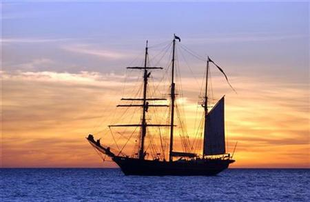 A tallship in a file photo. As many as one in four Britons may have ancestors who moved to Australia -- of their own free will -- in the 19th and early 20th centuries, online records show. REUTERS/Troy Rodgers