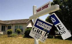 <p>Una casa pignorata in California. REUTERS/Robert Galbraith (UNITED STATES)</p>