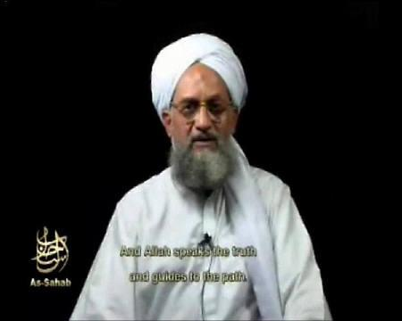 A frame grab of a video released on September 2, 2006 shows Al Qaeda's second-in-command Ayman al-Zawahri speaking. REUTERS/Reuters TV/Files