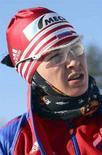 <p>Olga Pyleva, l'atleta russa trovata positiva all'antidoping alle Olimpiadi invernali di Torino nel 2006. REUTERS/Ilya Naymushin (RUSSIA)</p>