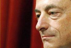 <p>Il governatore della Banca d'Italia Mario Draghi REUTERS/Alessandro Bianchi</p>