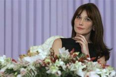<p>Carla Bruni-Sarkozy REUTERS/Christophe Ena/Pool</p>