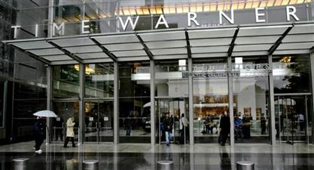 The Time Warner headquarters building at Columbus Circle in New York in a file photo. The media conglomerate withdrew its bid to buy the Weather Channel due to price, a source familiar with the negotiations told Reuters on Friday. REUTERS/Nicholas Roberts