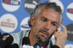 <p>L'ormai ex allenatore della nazionale italiana Roberto Donadoni. REUTERS/Tony Gentile (AUSTRIA) MOBILE OUT. EDITORIAL USE ONLY</p>