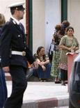 <p>Polizia in un campo rom REUTERS/Chris Helgren</p>