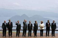 <p>I leader del G8. REUTERS/Bazuki Muhammad</p>