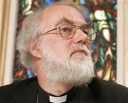 Archbishop of Canterbury Rowan Williams in a file photo. The Church of England's governing body confirmed on Monday it will ordain women bishops but also approved measures to accommodate traditionalist opponents. REUTERS/ Mike Cassese